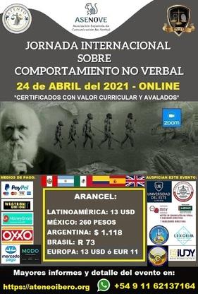 JORNADA INTERNACIONAL DE COMPORTAMIENTO NO VERBAL (1)